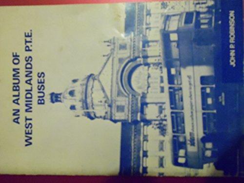 9780902844520: Album of West Midland P.T.E.Buses
