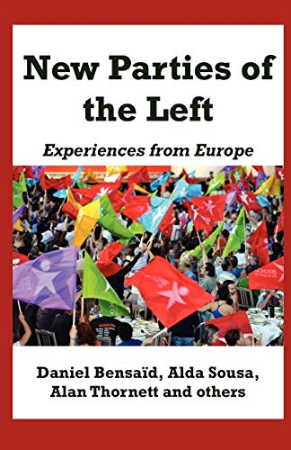 9780902869516: New Parties of the Left: Experiences from Europe (Notebooks for Study and Research)