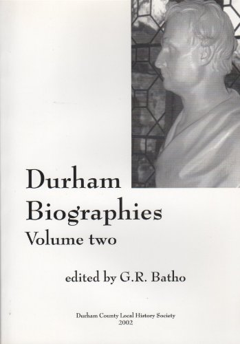 9780902958227: Durham biographies