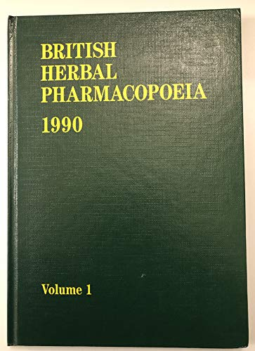 9780903032087: British herbal pharmacopoeia
