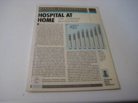 Hospital at Home: The Coming Revolution (0903060388) by Taylor, David