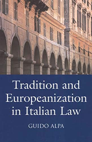 9780903067485: Tradition and Europeanization in Italian Law