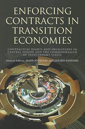 Enforcing Contracts in Transition Economies: Contractual Rights: Mads Andenas, Gerard