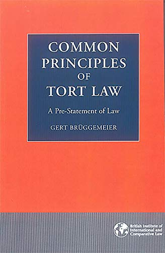 9780903067829: Common Principles of Tort Law: A Pre-Statement of Law