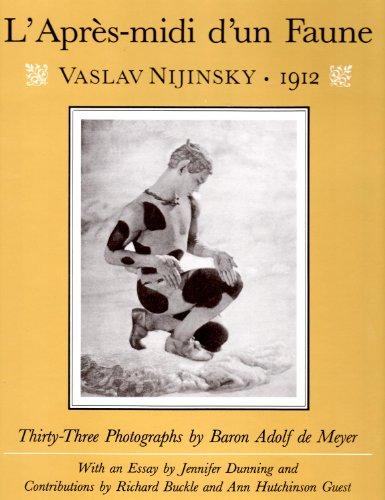 "Apres-midi d'un Faune"": Vaslav Nijinsky, 1912: Adolf De Meyer"