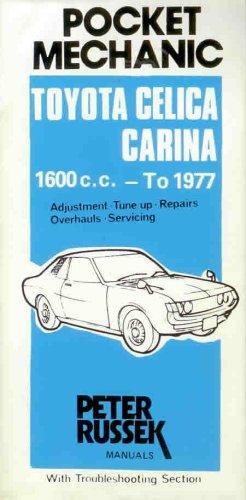 9780903168625: Repair Guide for Toyota Celica/Carina (Glovebox)