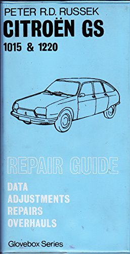 Repair Guide for Citroen GS (Glovebox): Russek, Peter