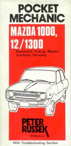Repair Guide for the Mazda 1000, 1200, 1300 (Glovebox) (9780903168960) by Russek, Peter