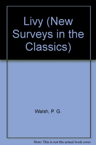 9780903242554: Livy (New Surveys in the Classics)