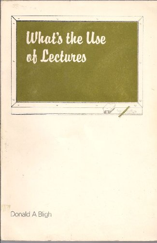 9780903275002: What's the Use of Lectures?