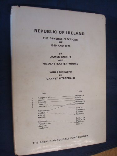 Republic of Ireland: General Elections of 1969 and 1973: Knight, James, Baxter-Moore, Nicolas