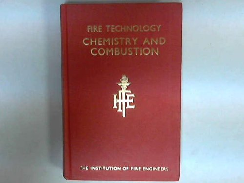 Fire Technology: Chemistry and Combustion: Wharry, David M., Hirst, Ronald