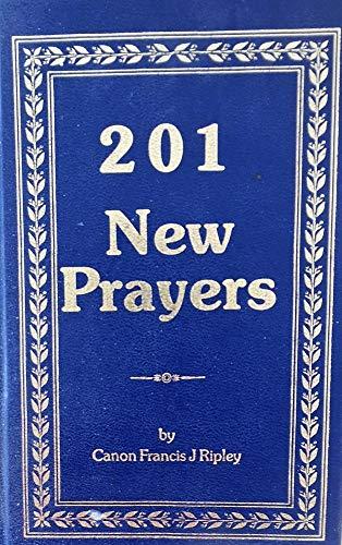 201 New Prayers SIGNED: Francis Joseph Ripley