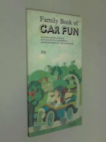 9780903356091: Family Book of Car Fun