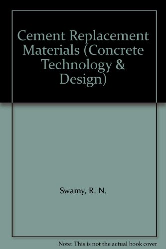 9780903384520: Cement Replacement Materials (Concrete Technology & Design S.)