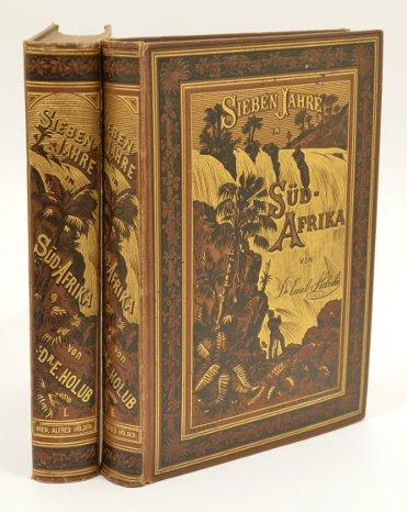 9780903431910: Sieben Jahre in Süd-Afrika. Erlebnisse, Forschungen und Jagden auf meinen Reisen von den Diamantenfeldern zum Zambesi (1872-1879). Komplett in 2 Bänden in einem Band.