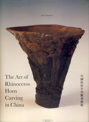 9780903432573: The Art of Rhinoceros Horn Carving in China: Chung-Kuo TI Hsi Niu Chiao Tiao Ko I Shu