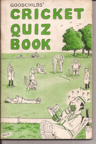 9780903445283: Cricket Quiz Book: No. 1