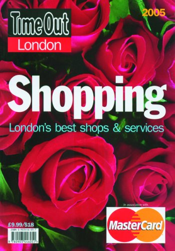 9780903446051: Time Out London Shopping: London's Best Shops and Services