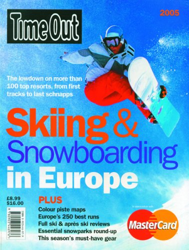 9780903446976: Time Out Skiing and Snowboarding in Europe