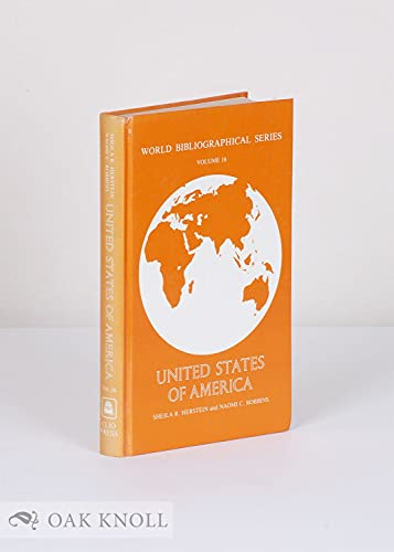 9780903450294: United States of America (World Bibliographical Series)
