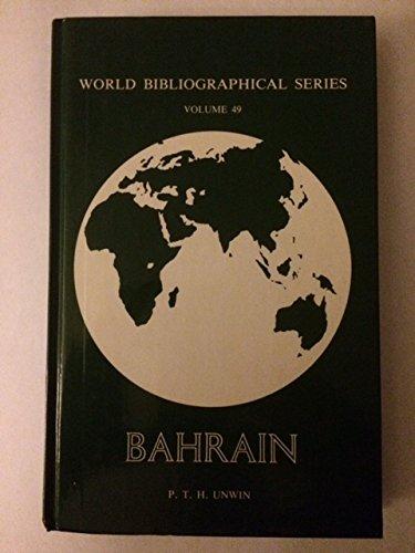 9780903450867: Bahrain (World Bibliographical Series)