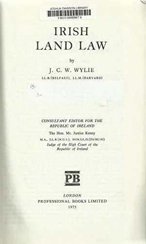 9780903486071: Irish Land Law