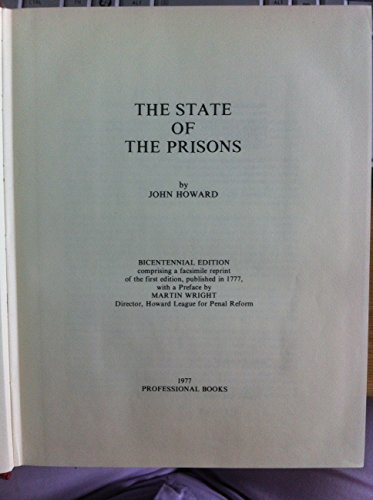 State of the Prisons, The Bicentennial Edition: Howard, John