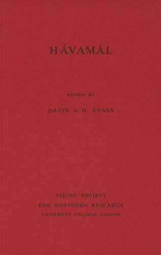 9780903521192: Havamal (Viking Society for Northern Research Text)