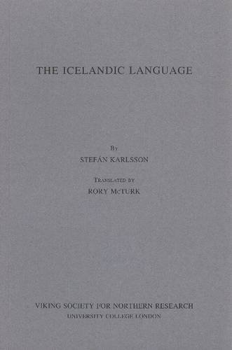 Icelandic Language: Karlsson, Stefan