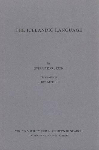 9780903521611: The Icelandic Language