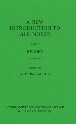 9780903521833: A New Introduction to Old Norse: II: Reader