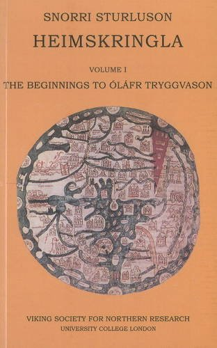 9780903521864: Heimskringla: Beginnings to Olafr Tryggvason Part 1