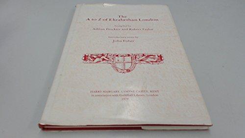 A to Z of Elizabethan London: Agas, Radulphus