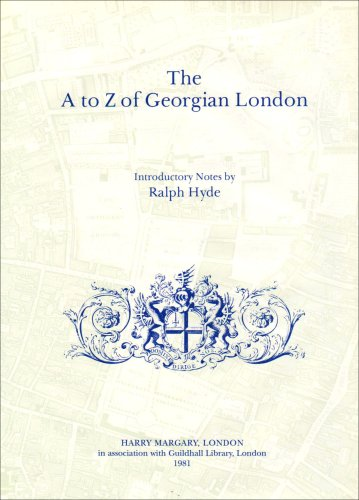 The A to Z of Georgian London