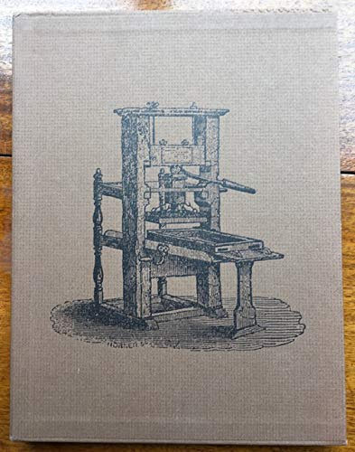 9780903560214: Common Press: Being a Record, Description and Delineation of the Early Eighteenth Century Handpress in the Smithsonian Institution