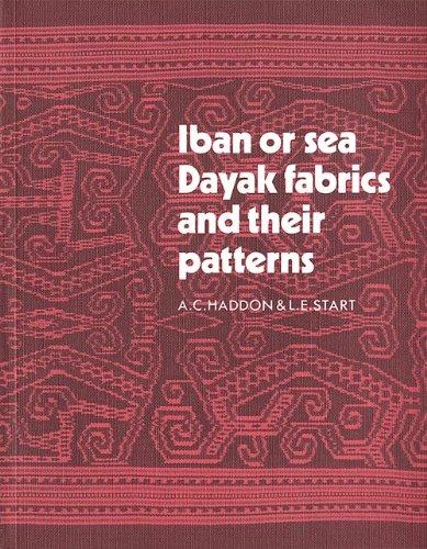 IBAN OR SEA DAYAK FABRICS AND THEIR: HADDON. A. C.