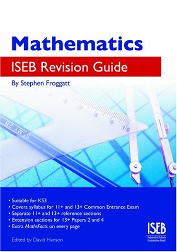 9780903627450: Mathematics ISEB Revision Guide: A Common Entrance Revision Guide 11-13 (ISEB Revision Guides)