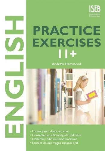 9780903627696: English Practice Exercises 11+ (Practice Exercises at 11+/13+)