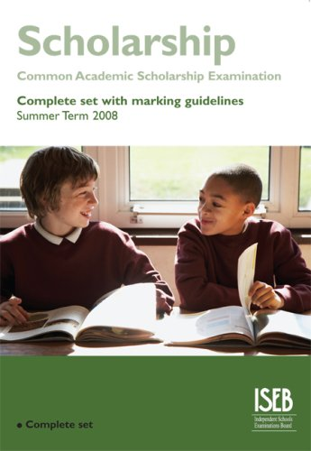 9780903627955: Common Academic Scholarship Examination (CASE) set with marking guidelines (Summer Term 2008)