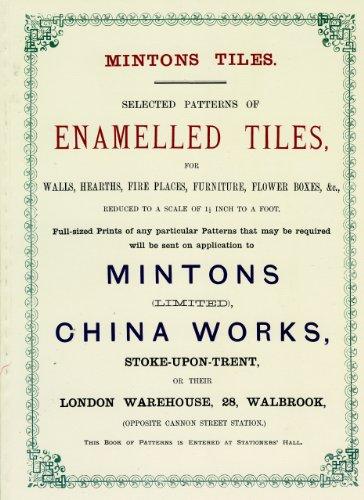 Minton Tiles: Selected Patterns of Enamelled Tiles