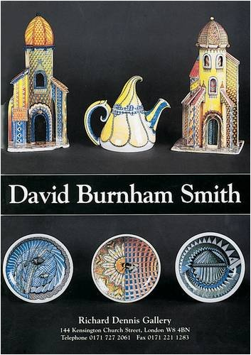 9780903685634: David Burnham Smith: Ceramic Artist