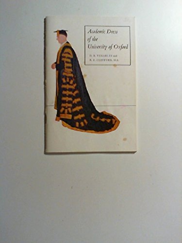 Academic Dress of the University of Oxford: Venables, Dennis Roy