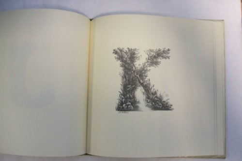 The Landscape Alphabet: Letter Shapes as Attractive Vignettes. [Inventive Lettering: Swirling Seas,...