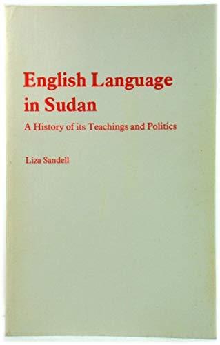English Language In Sudan. A History Of: Sandell, Liza.