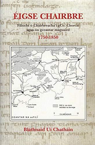 9780903758567: Eigse Chairbre. Filiocht o Chairbreacha I gCo. Chorcai Agus On Gceantar Maguaird 1750-1850