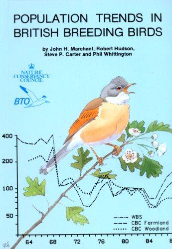 Population Trends in British Breeding Birds: Marchant, John, Hudson,