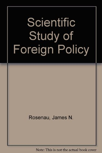 9780903804561: Scientific Study of Foreign Policy