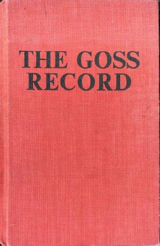 9780903852005: Goss Record