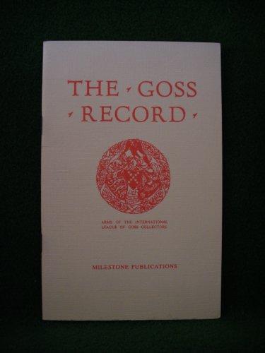 9780903852081: Goss Record: War Edition